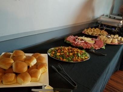 Delicious catering, The Nelson Event Center Cranston RI