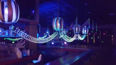 Glow Party Decor at The Nelson Event Center Cranston RI