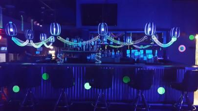 Glow Party Decor at The Nelson Event Center Cranston RI