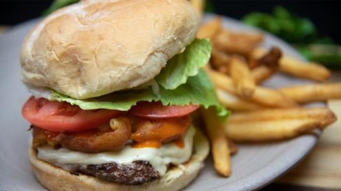 Regular Menu Item - Buffalo Mac N' Cheese Burger