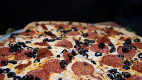 Regular Menu Item - Pepperoni & Black Olive Pizza